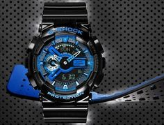 ขอแนะนำ G-Shock Punching Pattern Series (GA-110LPA) รุ่นใหม่ ดีไซน์แบบสปอร์ต ที่มาพร้อมรูปแบบสายนาฬิกาที่ไม่เหมือนใคร ช่วยให้สวมใส่สบายยิ่งขึ้น มาพร้อมความทนทานมาตรฐาน G-Shock ในราคาเพียง 6,500 บาท   #CasioWatch #Gshock #GA110PLA #Casio @todayswatchfashion,