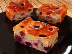 Bizcocho Fit de Yogur y Frutos Rojos – Fitlicioso