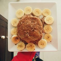 Coconut pancakes & nocarb day. Best friends forever #fit #fitness #fitdessert #fitfam #fitgirl #ifitfityourmacros #iifym #healthy #healthybreakfast #healthypancakes #healthydessert #pancakes #paleo #nocarb #lowcarb #glutenfree #coconut #cocoa #banana #ana #anarecovery #food #foodporn #coconutflour #paleopancakes