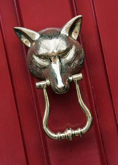 Brass Fox Door Knocker $159 Horse Country Store | Dream House Interiors |  Pinterest | Foxes, Horse And Doors