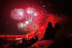"""4th of July Fireworks at Newport Beach!  SO MANY MEMORIES ON THE """"BARBARA ANNE"""" WITH FAMILY AND FRIENDS!"""