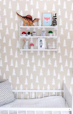 Scandinavian child's room