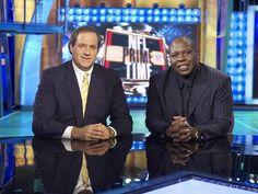 Chris Berman and Tom Jackson Influential People, Espn, Football Players, Jackson, How To Memorize Things, Sports, Denver Broncos, Random, Sport