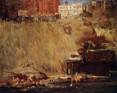 The Athenaeum - River Rats (George Wesley Bellows - )
