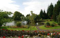 Ornamental Gardens, Grange over Sands, Cumbria