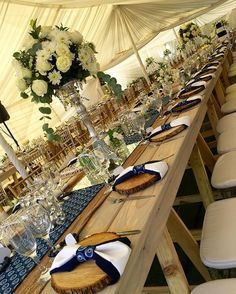 Our wooden tables finally made their first debut in this week's modern traditional wedding for Silin - kagishocatering African Wedding Theme, African Wedding Attire, African Weddings, White Tent Wedding, Wedding Set Up, Wedding Ideas, Zulu Traditional Wedding, Modern Traditional, Silver Wedding Decorations