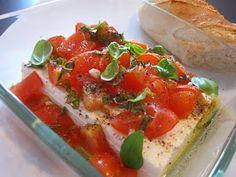 Küchenzaubereien: Gebackener Feta mit Tomaten