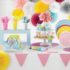 easy balloon decoration ideas for birthday party at home Villa