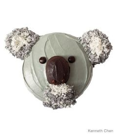 Koala Cake - Click link to see instructions