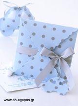 Προσκλητήριο βάπτισης πουά σιέλ-γκρι Toddler Bed, Gift Wrapping, Party, Gifts, Home Decor, Paper Wrapping, Presents, Homemade Home Decor, Wrapping Gifts