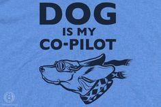 Dog is my co-pilot. Love it!