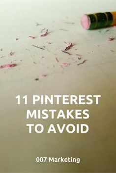 11 Pinterest Mistakes to Avoid — Medium