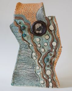 This sculpture by Patricia Griffin can be viewed at Vault Gallery in Cambria.
