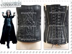 Movie Underworld 4 Awakening Selene Pleather Corset Costume Cosplay-in Clothing from Novelty & Special Use on Aliexpress.com | Alibaba Group