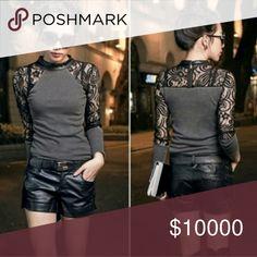 Selling this Gray Sweater on Poshmark! My username is: carlbrock09. #shopmycloset #poshmark #fashion #shopping #style #forsale #White House Black Market #Tops