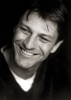 Sean Bean    THAT SMILE...He is Mick Dineen, hero of The List from Vengeance Is Mine