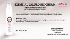 Concludiamo la settimana con un altro prodotto nuovissimo della #LineaViso professionale Neoglis! L' #Exenzial #JaluronicCream, una crema professionale ANTI-AGE e ANTI-GLICAZIONE!!