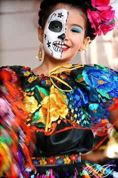 Dia de Los Muertos 9 • Santa Ana by Marcie Gonzalez, via Flickr