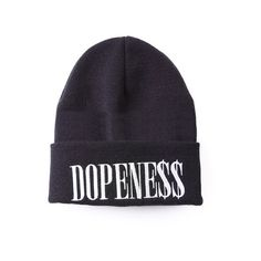 Dopeness Beanie ($29) ❤ liked on Polyvore featuring accessories, hats, beanies, headwear, black, beanie cap, cotton beanie, beanie hat, cotton beanie caps and beanie cap hat