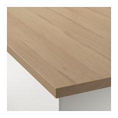 EKBACKEN Plan de travail, motif chêne clair - motif chêne clair - 246x2.8 cm - IKEA