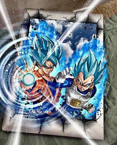 Goku And Vegeta, Dbz, Dragon Ball Z, Awesome Art, Cool Art, Ball Drawing, Wands, Japanese, Tattoo