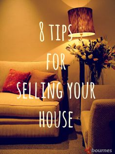 8 top tips for selling your house