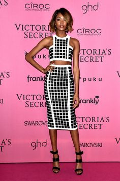 Model Jourdan Dunn attends the after party for the annual Victoria's Secret fashion show at Earls Court on December 2, 2014 in London, England.