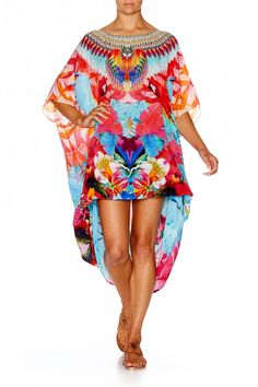 CAMILLA THE FREE ROUND NECK KAFTAN 2
