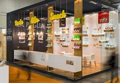 View full picture gallery of Exhibition Exhibition Display Stands, Exhibition Stall Design, Exhibit Design, Food Stall Design, Food Design, Design Ideas, Trade Show Design, Display Design, Food Expo