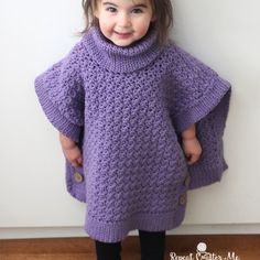 Yarnspirations Crochet Poncho For You and Me and Giveaway!