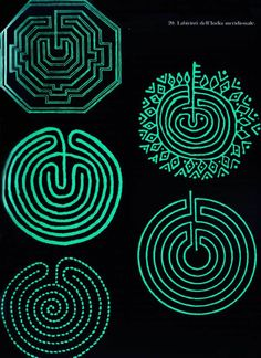 Labyrinth Tattoo, Labyrinth Garden, Labyrinth Maze, Maze Tattoo, 3d Pen, Matte Painting, Ancient Art, Sacred Geometry, Graphic Design