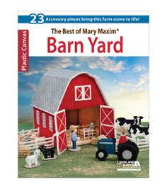 Spend a fun-filled weekend with the Barn Yard book. This 44-page book by Mary Maxim is a great choice for kids to have hours of fun. The softcover book features 23 pieces that help you bring out a bea