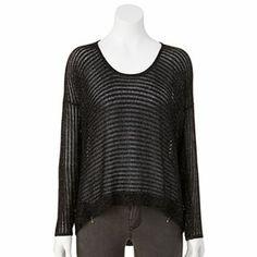Jennifer Lopez Lurex Sweater