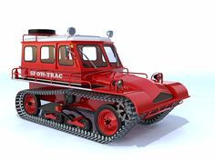 Snow-Trac Modeled in SketchUp, rendered in Kerkythea Snow Vehicles, Army Vehicles, Redneck Crafts, Snow Toys, Hors Route, Snow Machine, Engin, Matchbox Cars, Expedition Vehicle