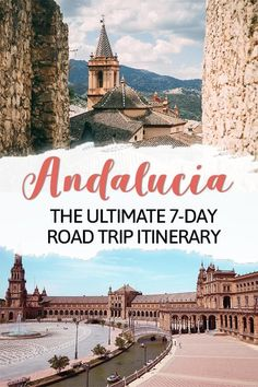 Andalusia Road Trip: The Best One-Week Southern Spain Itinerary - Traveling to Andalusia Spain? Here is the best Andalucia road trip itinerary that includes the best - Europe Destinations, Europe Travel Tips, European Travel, Portugal Destinations, Menorca, Murcia, Cool Places To Visit, Places To Travel, Spain Road Trip