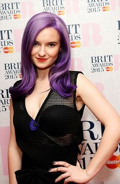 Clean Bandit star Grace Chatto dares to bare in TWO racy outfits Jess Glynne, Clean Bandit, Black Stiletto Heels, 0 Image, Awards, Singer, Poses, Purple, Outfits