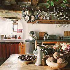 Irish kitchen - Ballybur Castle