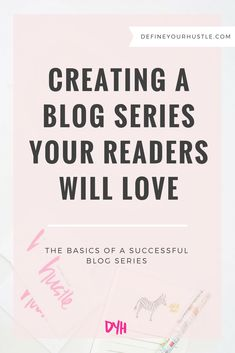 A great blog series can boost your traffic and earn you repeat visitors, but don't let it turn into a complete flop! Learn the basics of creating a successful blog series with the tips in this post!