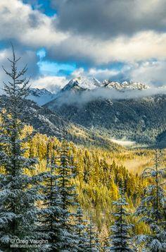 Chikamin Ridge (Cascade Mountains, Washington) by Greg Vaughn