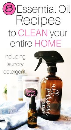 Easy Natural Cleaning Recipes (that actually work Your complete guide to making your own cleaning products, including must-have ingredients and recipes. Homemade cleaning products are a safe and effective way to reduce toxic exposure. All Natural Cleaning Products, Natural Cleaning Recipes, Homemade Cleaning Products, Natural Products, Green Cleaning Recipes, Natural Cleaning Solutions, Hair Products, Diy Home Cleaning, House Cleaning Tips