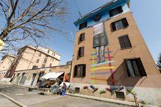 StreetArt Roma: Il Bambino Redentore | Seth | 2015 | Zona: Tor Marancia | #art #streetart #roma