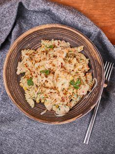 Fusilli, Quesadilla, Hot Dog, Penne, Pasta Salad, Bacon, Food And Drink, Ethnic Recipes, Kitchen