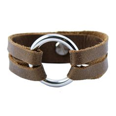 Leather Bracelet. I got this for Christmas and I love it!