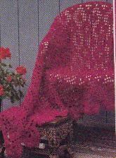 Crochet Victorian Throw