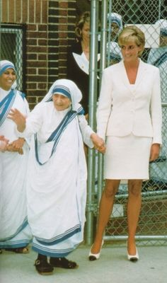 Mother Teresa & Diana