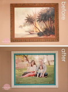 DIY Artwork Makeover | Make the most of dated artwork in a few simple steps!