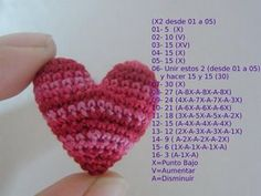 de Corazon Crochet Heart - Hope I can figure it out!Crochet Heart - Hope I can figure it out! Crochet Diy, Love Crochet, Learn To Crochet, Crochet Motif, Crochet Crafts, Crochet Dolls, Crochet Flowers, Crochet Projects, Crochet Patterns