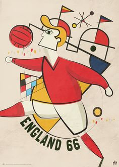 Vintage World Cup by Neil Stevens, via Behance