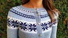 Bilderesultat for nancy kofte Fair Isle Knitting Patterns, Nordic Sweater, Crochet Clothes, Knit Cardigan, Handicraft, Baby Knitting, Knit Crochet, Elsa, Sewing