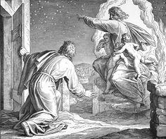 Bilder der Bibel - Gottes Verheißung an Abraham - Julius Schnorr von Carolsfeld